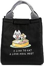 Fashion and High Quality New Cartoon Pattern Insulation Student Storage Bag(Black)