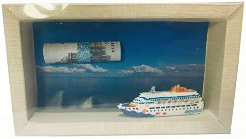 Geldgeschenk Gutschein Schiff Reise Kreuzfahrt GS051