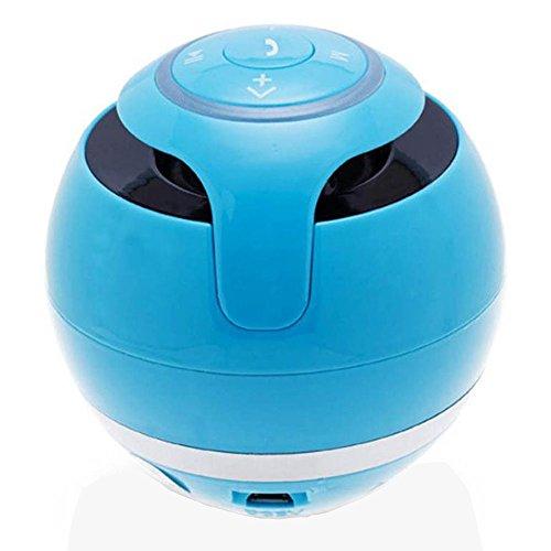 OPAKY Tragbarer drahtloser Super-Bass-Stereo-Bluetooth-Lautsprecher für Smartphone-Tablet-PC für iPhone, Samsung usw.