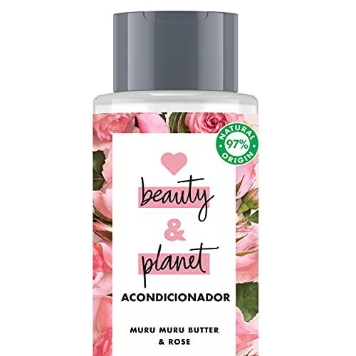Love Beauty And Planet Blooming Color Acondicionador Manteca De Muru Muru & Rosa 400 ml - Pack de 6