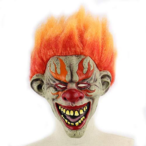 DUBAOBAO Blaze Clown Halloween Kamer Escape Bar Bal Prop Latex Enge Gezicht Halloween Masker Halloween Body Onderdelen Props