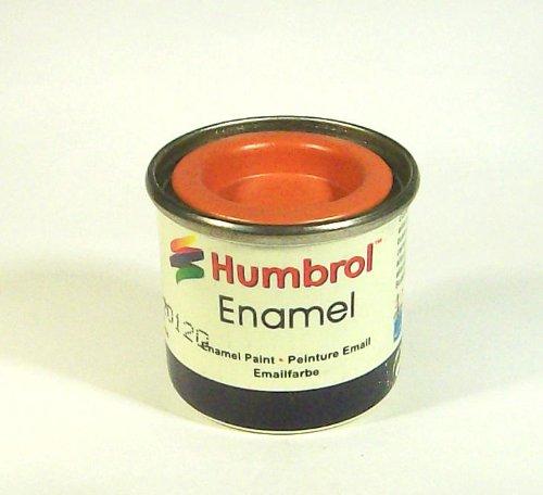 Humbrol - Pintura Esmalte, Color Orange Lining (Hornby