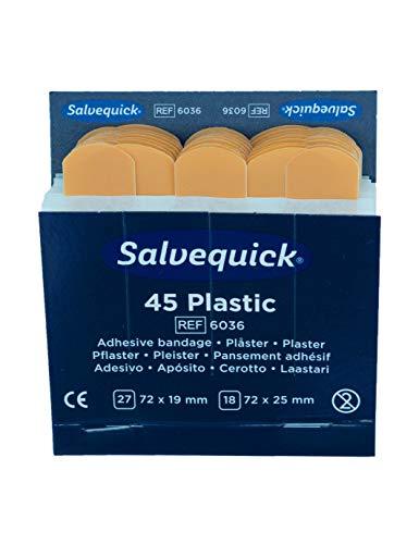 Pflasterstrips elastisch Salvequick, Inhalt : 27 St. 7,2 x 1,9 cm 18 St. 7,, Ausführung : wasserfest