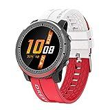 AKL Smart Watch Health Monitoring Fitness Tracker 1.28 'Smartwatch para Hombres Reloj Deportivo Multifuncional Reloj,B