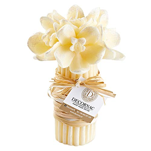 Grote Boeket Rose Orchidee Bloemen Handgemaakte Geurende Kaars Rose geur Natuurlijke Essentiële Oliën Aromatherapie Gift Meisje Vrouwen Moeder Decoratie Tafel Verjaardag verjaardag