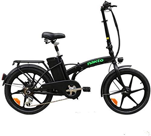 Bicicleta electrica Bicicleta eléctrica Bicicleta eléctrica Plegable para Adultos 36V 350W 10AAH Litio extraíble Batería de la batería Ciudad eléctrica Carrera Urbana