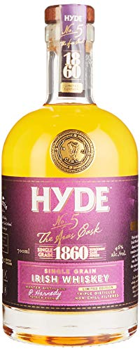Hyde No. 5 The Aras Cask 1860 Limited Edition Burgundy Cask Finish Whisky (1 x 0.7 l)