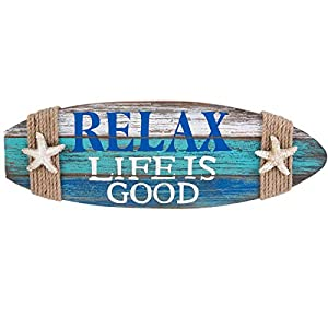41feQuIrGqL._SS300_ Wooden Beach Signs & Coastal Wood Signs