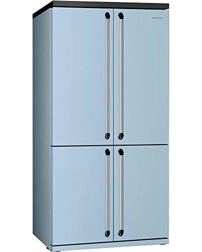 Smeg fq960pb autonome 540L a + Bleu Frigo Porte côté à côté – Réfrigérateur Side-By-Side (autonome, bleu, porte américaines, LED, porte à porte, LED)