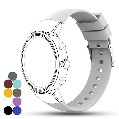 Zenwatch 3 Uhrenarmband, iFeeker Zubehör Weiche Silikon Gel Ersatz Armband Gurt Riemen für ASUS ZENWATCH 3 Smart Fitness Uhr
