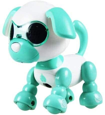 Aoyo Télécommande Smart électrique Robot Jouet for Chien Pet Robot for Enfants Interactive Playmate Touch Control Walking Singing Dog Toy