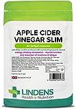 Lindens Aceto Di Sidro di mele SNELLENTE PILLOLE 84 Confezione UK produttore