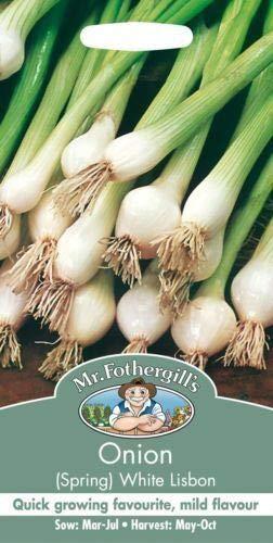Portal Cool Herr Fothergills - Gemüse - Frühlingszwiebel Weiß Lissabon - 1300 Seeds - Twin Pack
