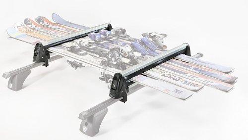Aurilis Rider 5E Aluminium Skiträger abschließbar alle Skitypen für bis zu 6 Skier oder 4 Boards