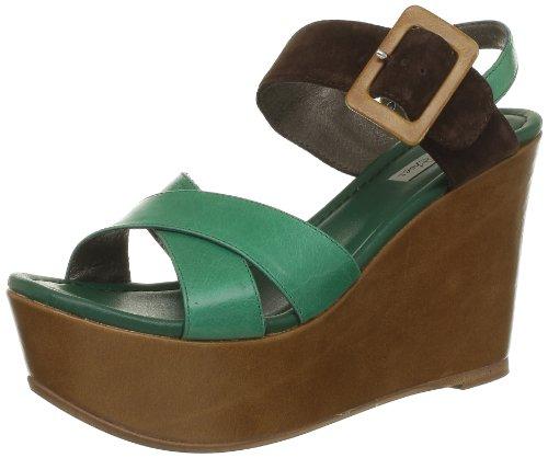 Tosca Blu Shoes Damen Ss1307S123 Sandalen, Grün, 36 EU