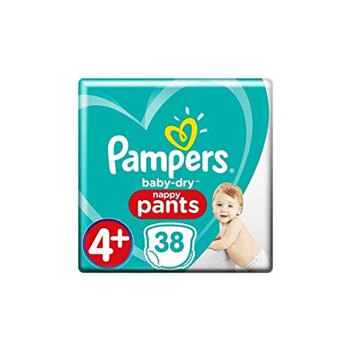 Pampers Baby-Dry Pants 38 Windeln, leicht anzuziehen, Größe 4+