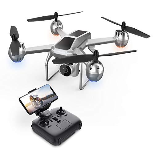 Eanling HS140 Drohne mit Kamera 1080P HD für Anfänger,RC Quadrocopter ferngesteuert mit FPV Live Übertragung,Lange Flugzeit,Handy Steuerung,Tap Fly,Höhenhaltung,Headless Modus für Kinder Erwachsene