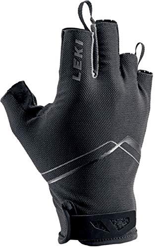 LEKI Damen Multi Breeze Short Stocktasche, schwarz/Weiss, 7
