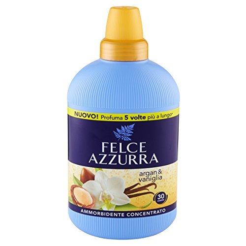 6x Felce Azzurra Weichspüler Konzentrat Duftende duft Arganöl und Vanilla 750ml