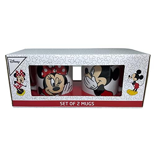 Set de dos tazas de desayuno de Mickey y Minnie