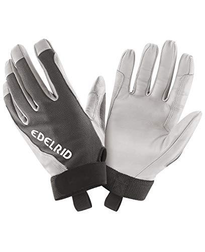 EDELRID Unisex– Erwachsene Skinny Glove II, Titan, S