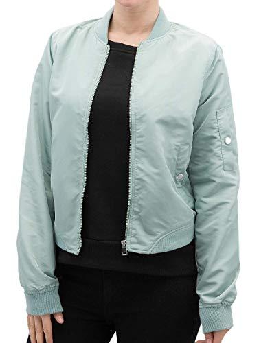 VERO MODA Damen VMDICTE Spring Short Jacket NOOS Jacke, Blau (Blue Surf), 34 (Herstellergröße: XS)