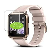 [3 Pack] Synvy Screen Protector, Compatible with RTAKO smart watch Smartwatch TPU Film Protectors [Not Tempered Glass]