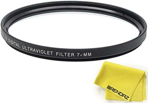 BRENDAZ UV Protector Filter + Lens Cloth Replacement for Compatible Canon EOS 6D Mark II, Mark III, Mark IV DSLR Camera w/ 24-105mm 24-70mm f/4L Lens & Other Compatible Canon Nikon Lens w/ 77mm Size