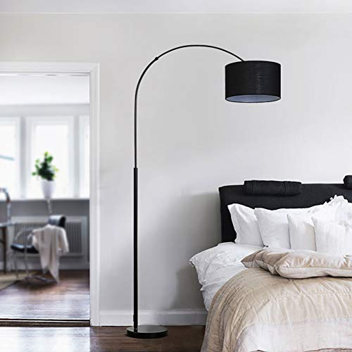 LAMP-XUE staande lamp, klassiek staande industriële arc licht met lampenkap, moderne vloerlamp woonkamer Polen verlichting voor slaapkamer, woonkamer, studiekamer
