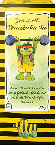 Janosch Bärenstarker Tee Bio Kindertee, 30 g