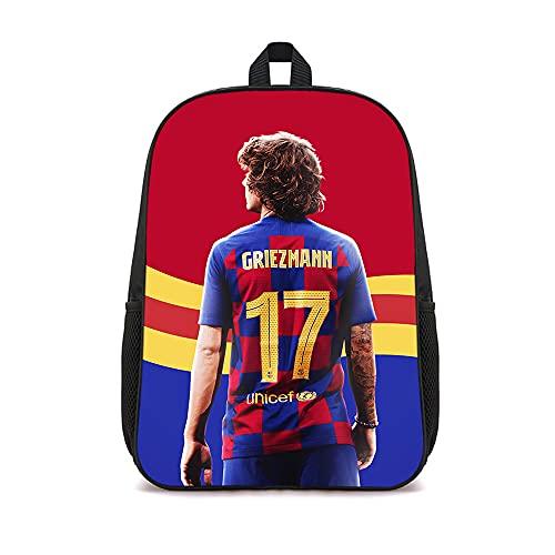LUOTINGL Mochilas Antoine Griezmann, bonita mochila para ordenador portátil, mochila informal para estudiantes, 41x12x28 cm para niños, niñas, adultos, adolescentes