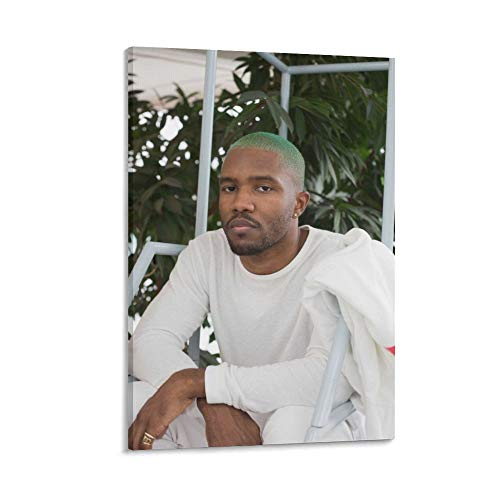 SHUISHOU Album Canvas Frank Ocean Blonde Posters Channel Orange Canvas Wall Art Poster Decorative Bedroom Modern Home Print Picture Artworks Posters 24×36inch(60×90cm)