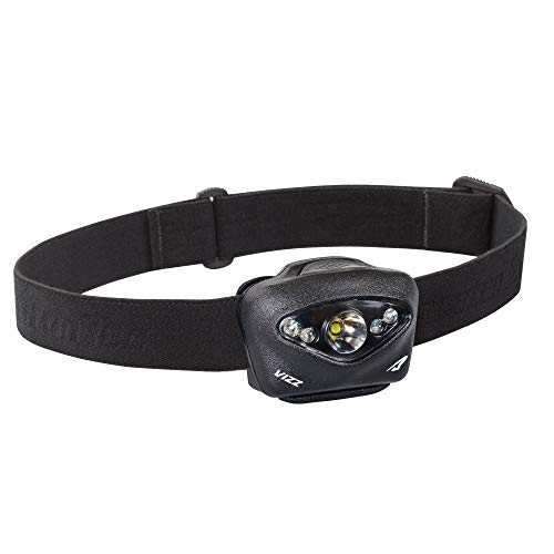 Princeton Tec Vizz Tactical LED Headlamp (420 Lumens, Black), One Size