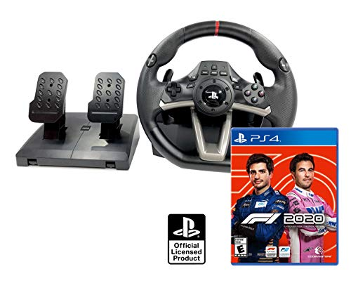 Volante PS4 Licencia Original Playstation 4 RWA Apex + Formula 1 2020 / F1 2020 PS4