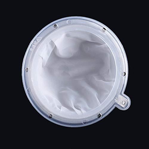 Filtre Nourriture en Nylon Réutilisable Passoire à Jus de Cuisine Lait Filtres à Entonnoir à Mailles de Cuisine Filtres Alimentaires en Maille pour TransféRer Liquide, Huile, Café, Vin, Jus, Confiture