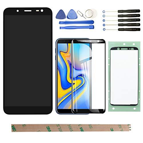 """YHX-OU Für Samsung Galaxy J6 J600 2018 J600F/DS 5.6\"""" LCD Display Touchscreen Ersatz Bildschirm mit Kostenloses Werkzeug (Schwarz)"""