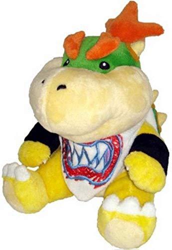 NC87 Super Mario Koopa Bowser Dragon Plush Doll 18Cm Brothers Bowser Jr Soft Plush Toys