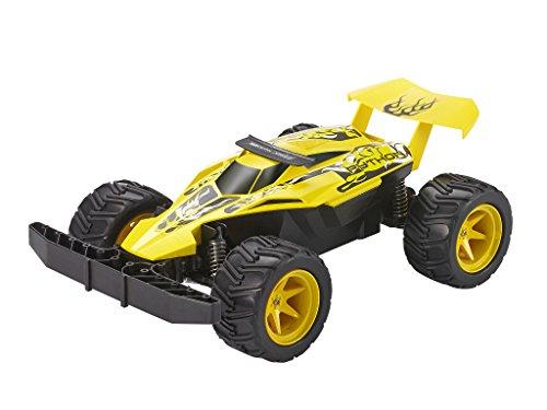 RC Auto kaufen Buggy Bild 3: Revell Control X-treme RC Car - schnelles, sehr robustes ferngesteuertes Auto als Buggy mit 2,4 GHz Fernsteuerung, Batterienbetrieben - Akku kann nachgerüstet werden - PYTHON 24807*