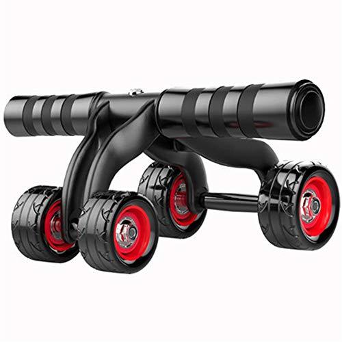 Wguili Core & Bauchtrainer 3/4 Runde Innovatives ergonomisches Bauchrollen-Graviersystem -Ab Roller Fitnessgeräte - Family Gym Boxing Exercise Equipment Ideal für Anfänger und erfahren Leute