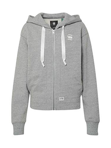 G-STAR RAW Fyx Biker Hooded Capucha, Gris (Avalanche htr C101-A290), X-Small para Mujer