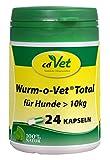cdVet Naturprodukte Wurm-o-Vet Total für Hunde  10 kg, 24 Kapseln - Hund - Ergänzungsfuttermittel -...