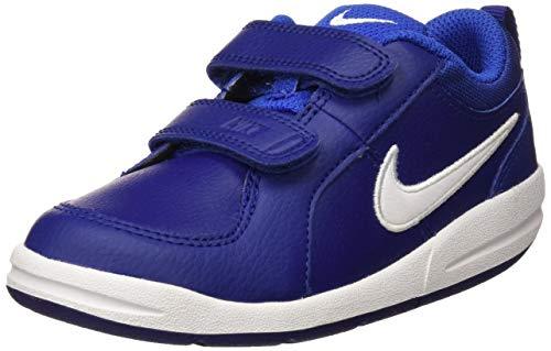 Nike Kinder Sneaker Pico 4 Jungen Sportschuh Klettverschluss Blau, Größe 6 M US