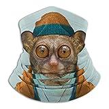 ヘッドバンド ターバン フェイスマスク メガネザル先生 バラクラバ 帽子 仮面 面 チューブ型 熱中症対策 日焼け防止 UVカット 花粉症対策 通気 保温 速乾 多機能 スポーツ バイク 自転車 スノボ スキー用 人気 メンズ レディース