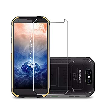 Laerion[2 Pack] Tempered Glass Screen Protector Compatible with Blackview BV9500/BV9600 Pro Screen Protector 9H Anti Scratch Transparent HD Clear Bubble Free Protective Film