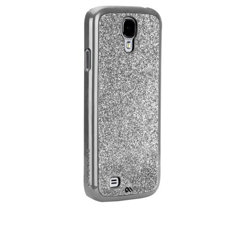 Case-Mate Barely There Case for Samsung Galaxy S4 - Glimmer Series - Retail Packaging - Silver