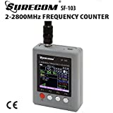 Surecom SF-103 2Gen Compteur de fréquence portable 2 MHz ~ 2,8 GHz Grande plage de test pour...