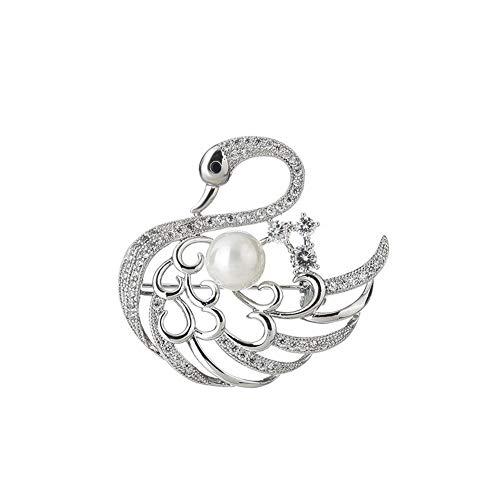 LNSTORE Las señoras elegantes y románticas de la joyería lindo broche cristalina...