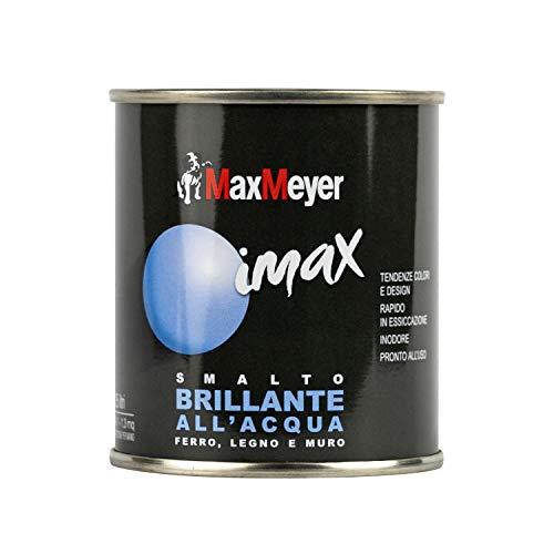 Maxmeyer 162571B130003 Smalto Brillante all'Acqua, BIANCO GHIACCIO, 0.125L
