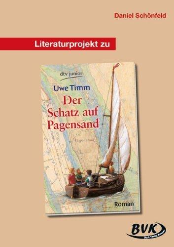 Literaturprojekt Der Schatz auf dem Pagensand. Kopiervorlagen by Unknown(2005-05-31)