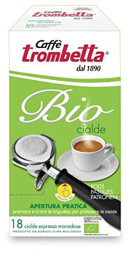 Caffè Trombetta, Caffè in Cialda ESE, Biologico - 18 Cialde